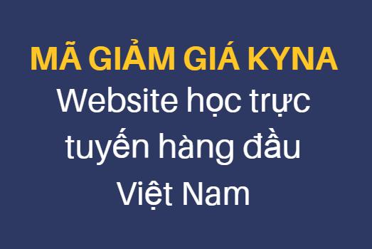 Mã giảm giá - mã khuyến mại Kyna