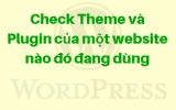 Kiểm tra theme và plugin của một website bất kỳ