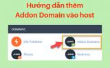Thêm tên miền (Addon domain) vào host trong vòng 1ph30s