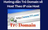 Hướng dẫn trỏ domain về hosting bằng IP