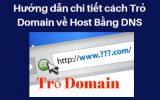 Hướng dẫn trỏ tên miền về host bằng DNS
