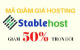Coupon Stable Host tháng 11, Hosting SSD giảm 50% trọn đời