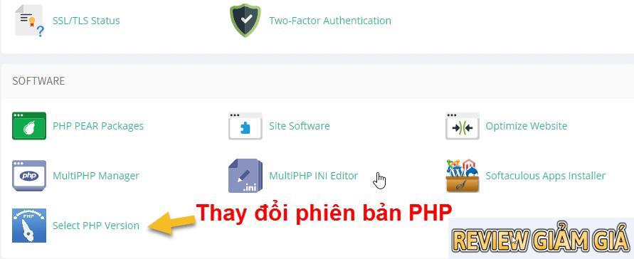 Nâng cấp PHP 7x cho wordpress