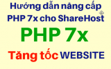 Nâng cấp phiên bản PHP 7x giúp tối ưu, tăng tốc website