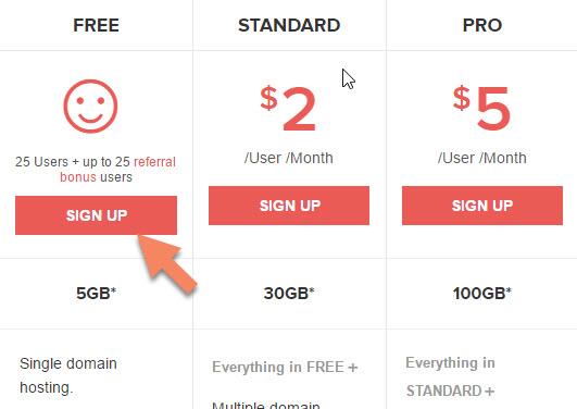 Tạo email tên miền riêng miễn phí