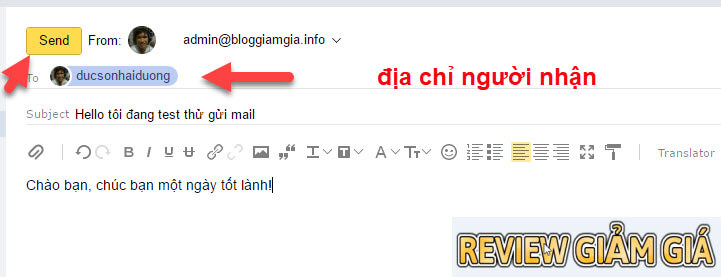 tao email ten mien rieng yandex 10