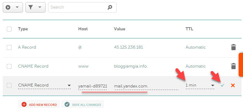tao email ten mien rieng yandex 4