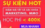 Tất cả khóa học Marketing, MMO tại Kyna giá chỉ dưới 400K