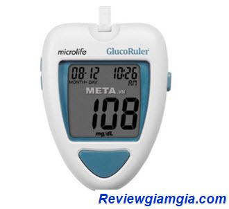Máy đo đường huyết Microlife Gluco Ruler MGR100