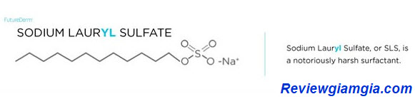 Chất tẩy rửa tạo bọt Sodium lauryl sulfate