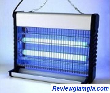 Đèn bắt muỗi sử dụng dòng điện
