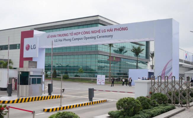 Công ty LG tại Hải Phòng