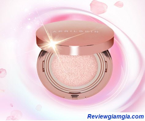 Phấn nước April Skin Magic Pink Cushion