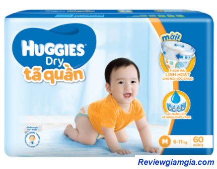 Tã quần Huggies cho bé