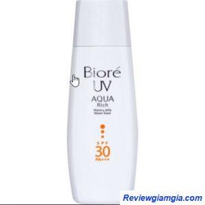 Biore Aquarich Jelly Water Base Whitening SPF30 PA+++