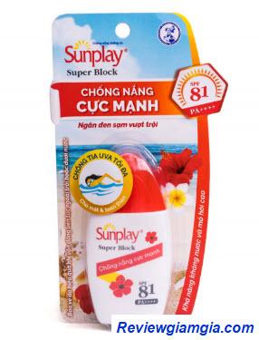 Kem chống nắng Sunplay Block