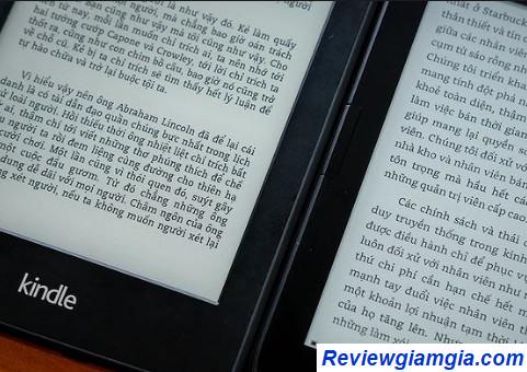 Kindle khả năng lưu trữ cao