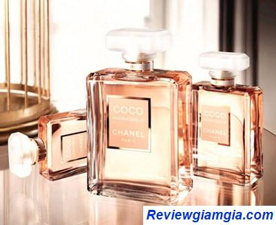 Mùi hương nước hoa Chanel Coco Mademoiselle