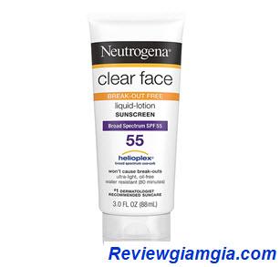 Kem chống nắng Neutrogane Clear Face Liquid
