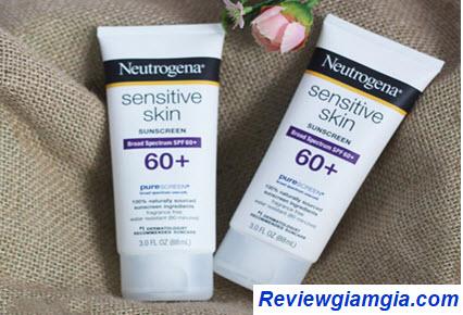 Kem chống nắng Neutrogena Sensitive Skin Sunscreen