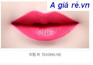 Son Espoir màu hồng đỏ -Teasing me