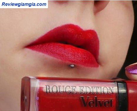 Son velvet 08 đỏ cherry