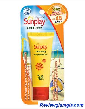 Kem chống nắng dạng kem Sunplay Outgoing