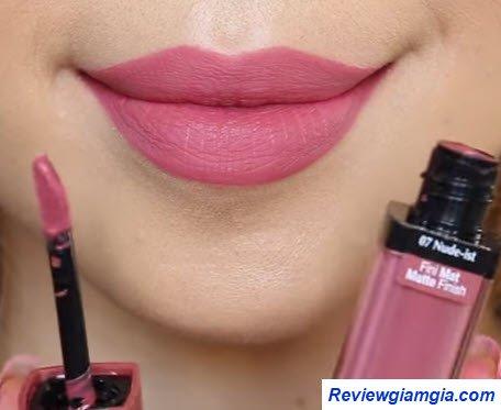 Son Velvet 07 hồng nude
