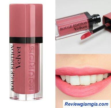 Son Velvet 09 hồng nude sáng