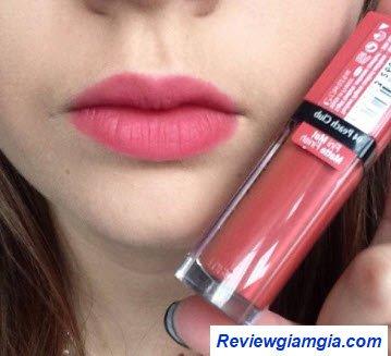 Son Velvet 10 màu hồng pastel nude