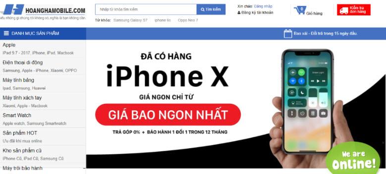 hoanghamobile - Hoàng Hà Mobile