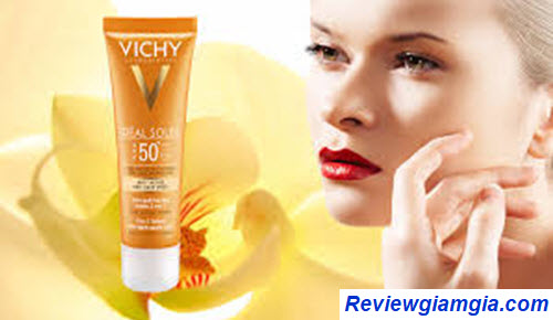Kem chống nắng Vichy 3 in 1 Ideal Soleil