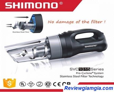 Máy hút bụi cầm tay mini Shimono SVC 1015