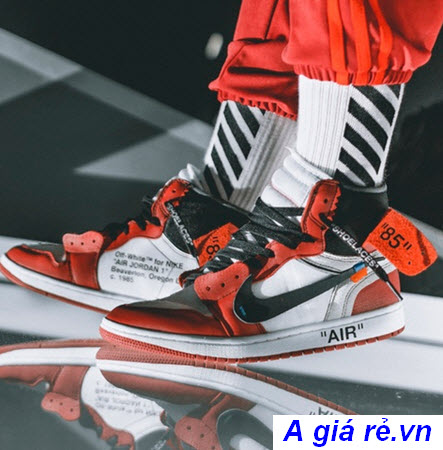 Giày Jordan 1 Chicago Bulls x Off White