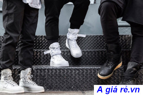 Giày Nike giá rẻ Air force 1 on feet