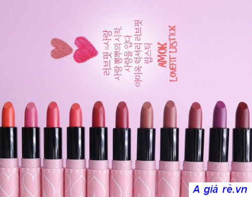 Amok Luxury Lovefit Lipstick