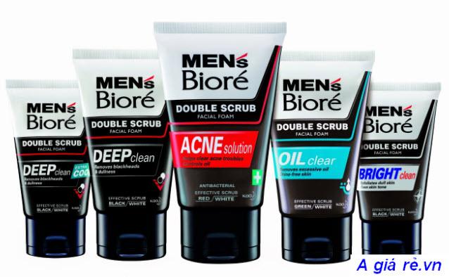 Các dòng sản phẩm của Biore For Men