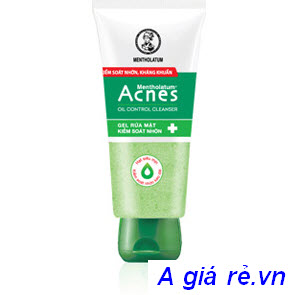 Gel rửa mặt Acnes Oil Control