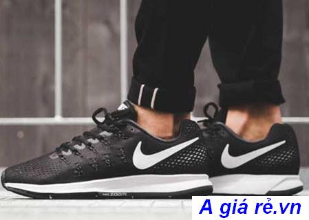 Giày Nike giá rẻ Zoom màu đen