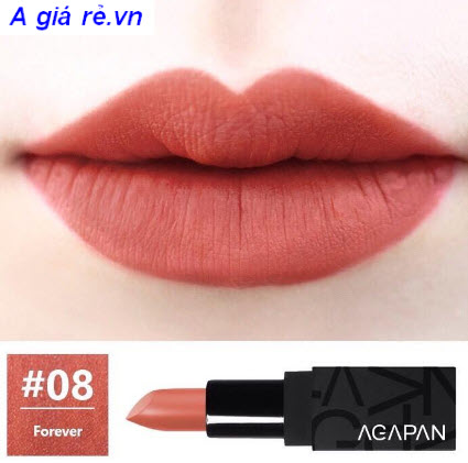 Son Agapan Pit A Pat Matte Lipstick màu số 08 - Forever