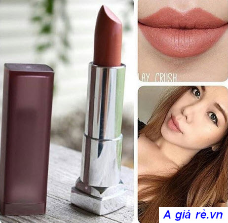 Son Maybelline Creamy Matte màu Clay Crush