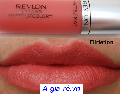 Son Revlon Lip Color Flirtation