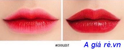 Son Tint 3CE Tattoo Lip Tint màu đỏ tươi-Coolest