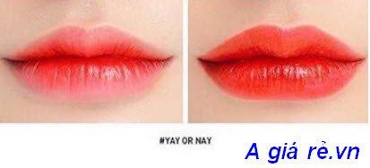 Son Tint 3CE Tattoo Lip Tint màu cam đỏ -Yay Or Nay