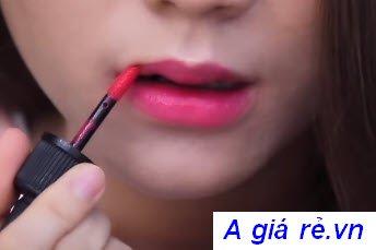 Son tint Ink Velvet PeriperaMàu số 10 hồng cánh sen -Ooops Fuchsia