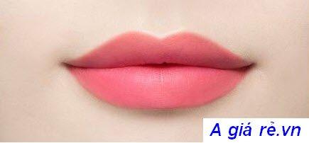 Son tint Ink Velvet Peripera Màu số 13 hồng san hô - Charming Coral
