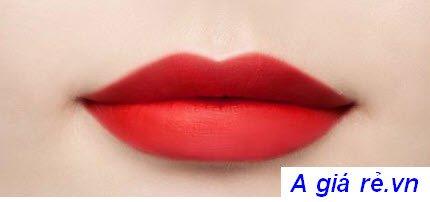 Son tint Ink Velvet Peripera Màu số 15 đỏ tươi -Girlish Red