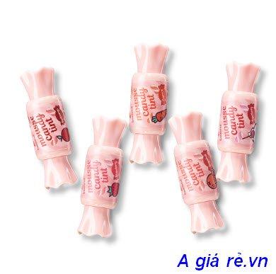 Son tint hình que kemThe Saem Mousse Candy Tint
