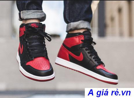 Giày đá bóng Nike Air jordan 1 bred