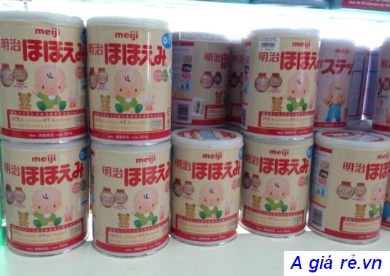 Các loại sữa meiji